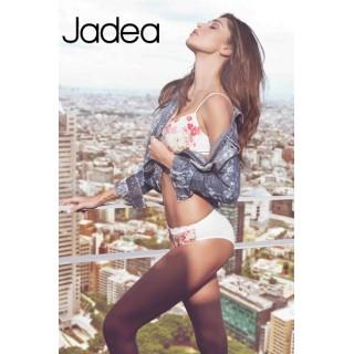 Jadea Chic coordinato Reggiseno push-up + slip a fantasia floreale ART.4758